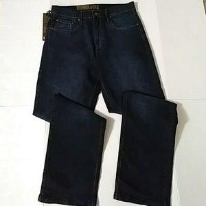 b5c6313a Urban Star Jeans - Urban Star Men's Dark Wash Blue Jeans 32X32